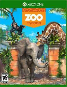 Brand New Unopened Copy of Zoo Tycoon for Xbox One