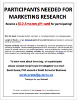 People Needed for Market Research-Get $10 Amazon Gift Card