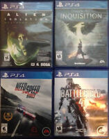 PS4 Games for trade.