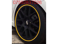 Alloy wheel protection Mercedes RangeRover Kia Land Rover Citroen Toyota Mini Seat Lexus Saab Nissan
