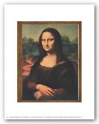 MUSEUM ART PRINT Mona Lisa by Leonardo da Vinci 11x14