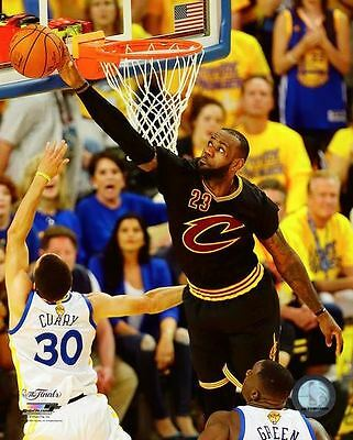 Lebron James The Block Cleveland Cavs 2016 Nba Champions  8X10 Licensed Photo  2