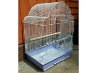 BRAND NEW White Bird Cage For Sale [Suitable for Budgies/Cockatiels/Lovebirds/Finches/Canaries/Etc]