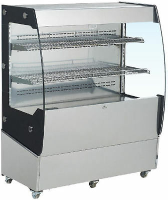 Omcan Rs-cn-0200 40 Open Air Grab And Go Refrigerated Display Case Cooler New