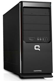 FAST HP COMPAQ COMPUTER DESKTOP PC AMD DUALCORE + 4GB DDR + 320GB HDD