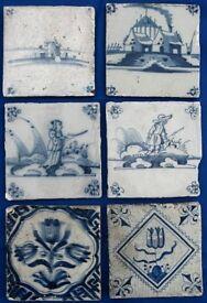 Delft tiles, 18th century