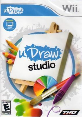 U Draw Studio (Nintendo Wii GAME ONLY!) LN WITH FAST LOW SHIPPING