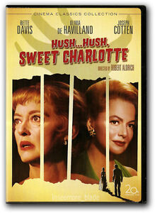 Hush...Hush, Sweet Charlotte DVD New Bette Davis Olivia de Havilland