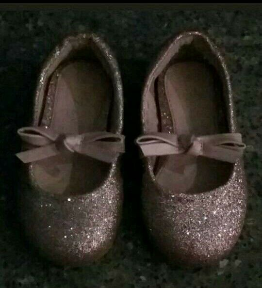 Next pink sparkly shoes. Infant size 3