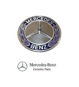 NEW Mercedes Benz Sprinter Front Grille Hood Adhesive Badge Emblem Star Genuine