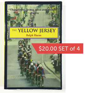 Set of 4 bicycle racing books   $20