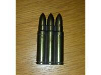 Bullet cigarette lighter