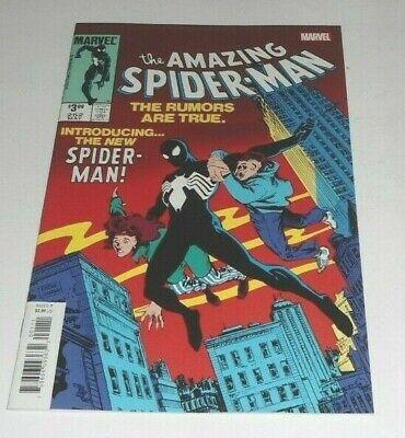 THE AMAZING SPIDER-MAN # 252 NM (2019.MARVEL) 1st Black costume. reprint ](The Amazing Spider Man Costumes)
