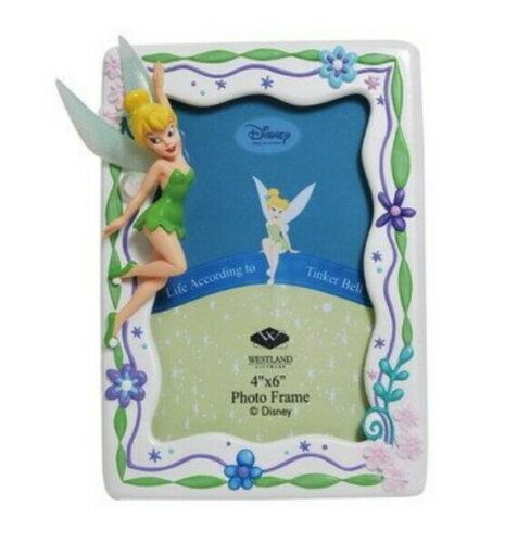 Westland Giftware Disney Life According to Tinker Bell 4x6 Photo Frame NEW
