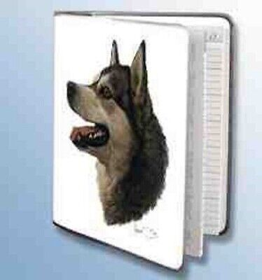 Alaskan Malamute Dog Breed - Retired Dog Breed ALASKAN MALAMUTE Vinyl Softcover Address Book by Robert May