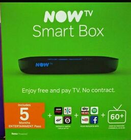 NOW TV Smart Box with 5 Months Entertainment Pass