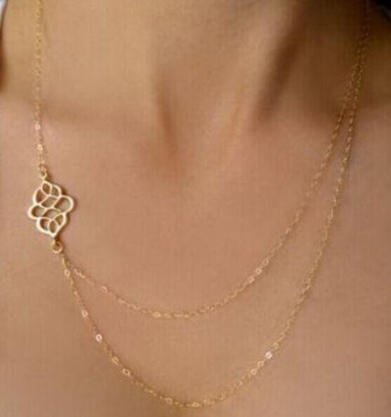 Pendant Gold Chain Choker Chunky Statement Bib Necklace Jewelry Charm