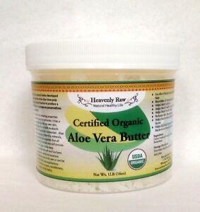 organic 100 pure natural aloe vera butter best skin moisturizer 8 16 oz lb ebay. Black Bedroom Furniture Sets. Home Design Ideas