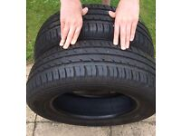 Part Worn Tyres - 2 x 175 65 R14 82T Conti Eco Contact 3