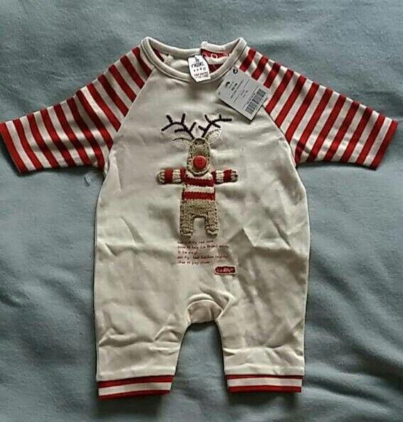 Christmas romper suit