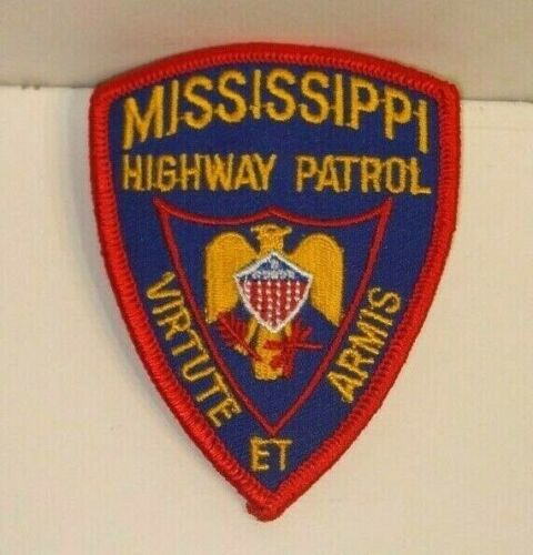 MISSISSIPPI  HIGHWAY PATROL POLICE   patch