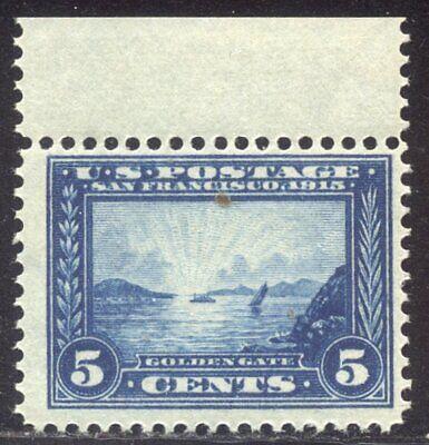 U.S. #399 Mint NH - 1913 5c Pan-Pacific ($160)
