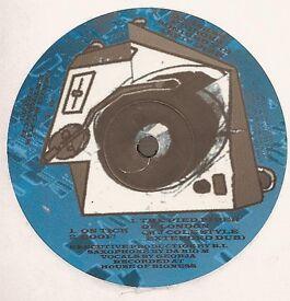 Q-ree Yus – On tick / Boof !: UK Garage 12'' Vinyl