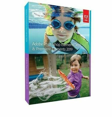 Photoshop Elements 2019 & Premiere Elements 2019 Brand New - ADOBE