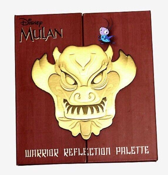 Disney Mulan Warrior Reflection 12 Color Eye Shadow Palette Make Up Brush Set