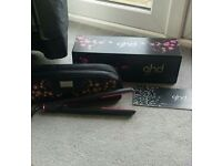 ghd gold seriers pink cherry blossom hair straightners near new 40 ono