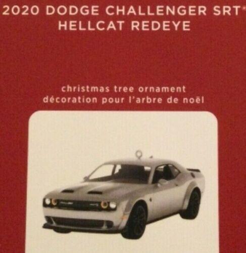 2020 HALLMARK ORNAMENT - 2020 DODGE CHALLENGER SRT HELLCAT REDEYE-DIE CAST