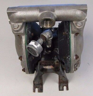 Aro Ingersoll-rand 1 Npt In Out Stainless Flow Aluminum Air Diaphragm Pump