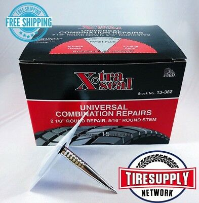 (XtraSeal 13-382 Universal Patch Plug Combination Tire Repair 31 Inc. (Box of 15))