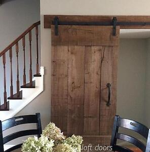 Sliding Modern Barn Style Doors, Hardware and Accessories