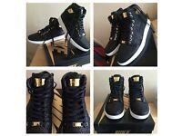 Nike Air Jordan 1 Pinnacle 24K Gold Plated UK8+UK7.5 100%Authentic LIMITED