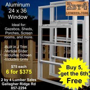 New Windows - Garden Shed / Gazebo