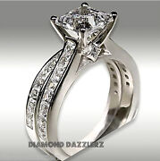 Princess Cut Diamond Engagement Ring Size 9