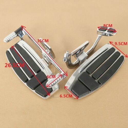 Driver Foot Board Floorboard Kit For Honda Goldwing GL1800 /& F6B 01-18 Valkyrie