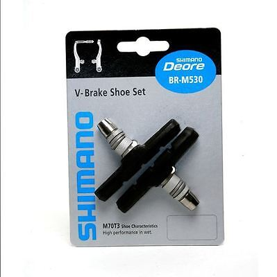 4 x Shimano M70T3 V Brake Pads Shoes Deore LX Brand New Free P/&P UK Stock