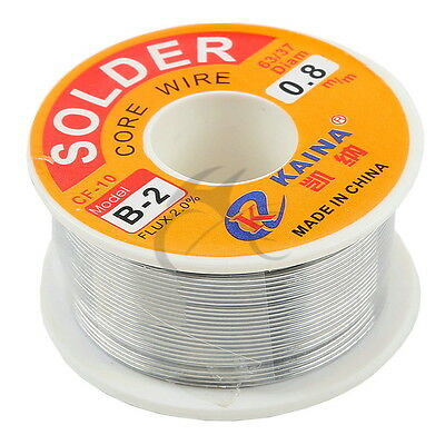 1x 6337 Tin Lead Line Soldering 0.8mm Rosin Core Solder Flux Welding Wire Reel