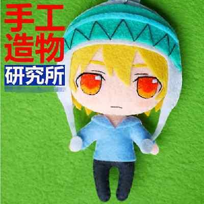 Japanese Anime Noragami Yukine Cosplay Costume Cute DIY Kits Toy Doll keychain  (Diy Anime Costume)