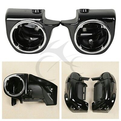 Lower Vented Leg Fairing Speaker Box Pod Fit Harley Ultra-Classic Electra Glide for sale  Shipping to Canada