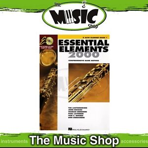 New Essential Elements 2000: Eb Alto Clarinet Book 1 & CD - Band Method
