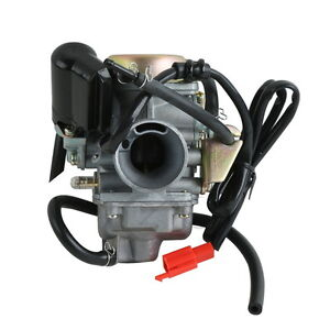 24mm-Carburetor-Carb-For-Honda-GY6-125-CC-ATV-125-PD24J-Scooter-Go-Kart-Wildfire