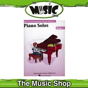 New HLSPL Piano Solos Book 2 - Hal Leonard Student Piano Library
