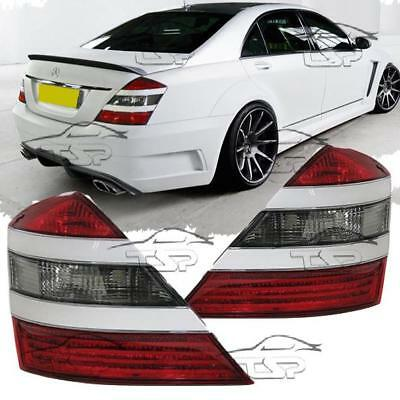 REAR TAIL LIGHT RED-WHITE FOR MERCEDES CLASS S W221 05-09 SALOON