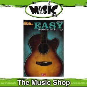 New Easy Acoustic Songs Strum & Sing Songbook - Guitar & Vocal Music Book