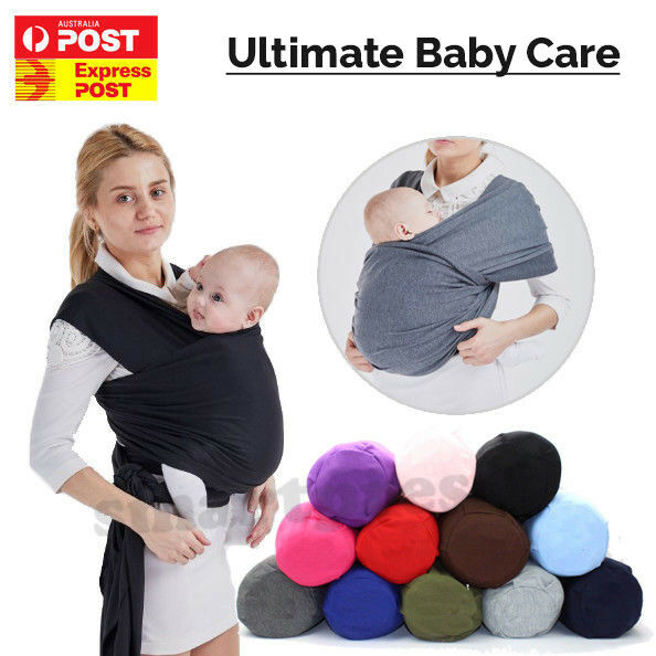 Baby Sling Cotton Stretchy Adjustable Wrap Carrier Infant