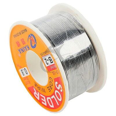 6337 Tin Lead Line Soldering 0.8mm Rosin Core Solder Flux Welding Wire Reel 14m