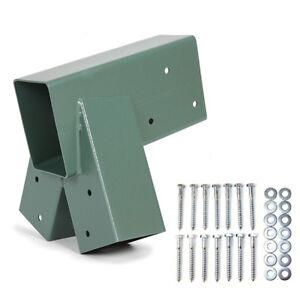 Green Easy 1-2-3 Heavy Duty Steel A-Frame Swing Set Bracket